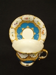 Meissen Tea Cup and Saucer B1546