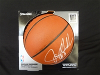 Jerry Stackhouse Autographed Spalding Basketball