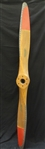 Vintage Sensenich Wooden Airplane Propeller