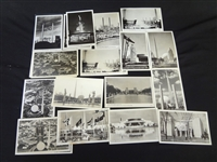 (19) 1939 New york Worlds Fair Real Photo Postcards