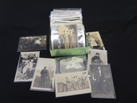 (250) Real Photo Postcards Portraits, Families