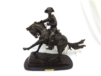 "Frederic Remington Large Bronze ""Cowboy"""