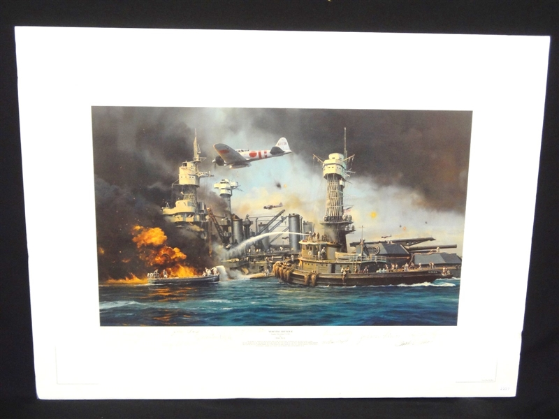 Robert Taylor Morning Thunder Signed Lithograph