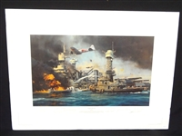 "Robert Taylor ""Morning Thunder"" Signed Lithograph"