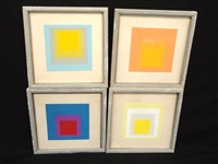 Josef Albers Homage to the Square 4 Unsigned