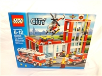LEGO Collector Set #60004 City Fire Station New and Unopened