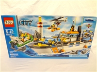 LEGO Collector Set #60014 City Coast Guard Patrol New and Unopened