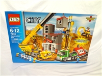 LEGO Collector Set #7633 City Construction Site New and Unopened