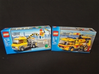 (2) LEGO Unopened Sets: 7891 Airport Fire Truck, 3179 Repair Truck