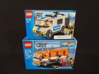 (2) LEGO Unopened Sets: 7991 Garbage Truck, 7245 City Police