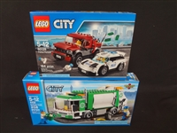 (2) LEGO Unopened Sets: 4432 Garbage Truck, 60128 Police Pursuit