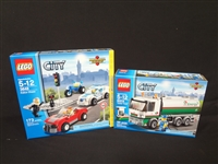 (2) LEGO Unopened Sets: 60016 Tanker Truck, 3648 Police Chase