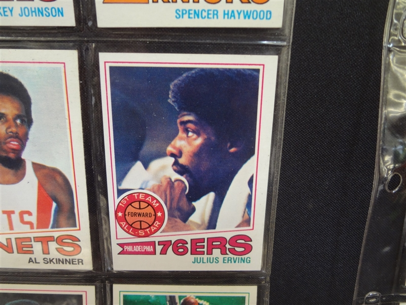 1977-78 Topps Basketball Cards Partial Set