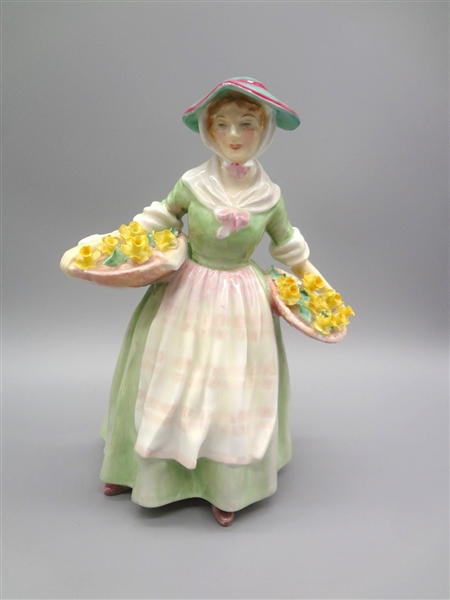 (3) Royal Doulton Figurines: Ann, Sairey Gamp, Daffy Down Dilly