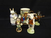 (5) Beswick Porcelain Figurines Group