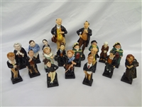 (19) Royal Doulton Charles Dickens Figurines