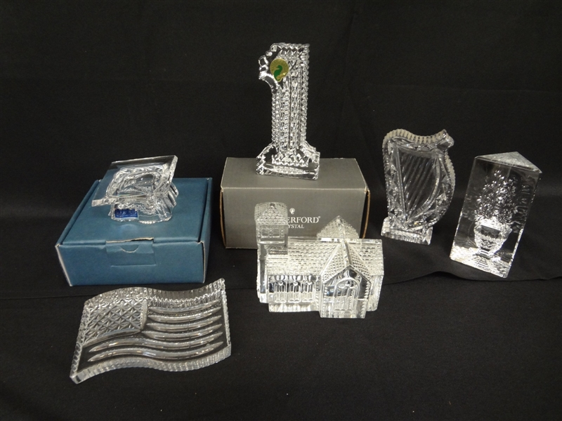 (6) Waterford Crystal Pieces