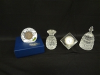 (4) Waterford Crystal Pieces