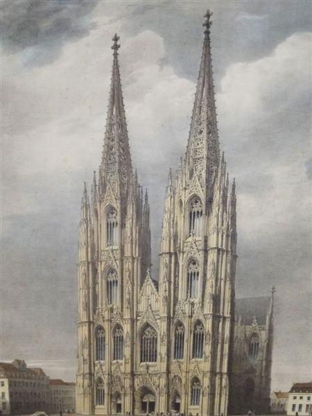 Simoneau & Toovey Engraving Cathedrale de Cologne