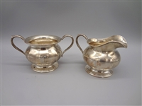Sterling Silver Chicago Silver Co. Creamer and Sugar