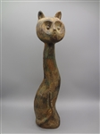 Cast Iron Tall Cat Door Stop