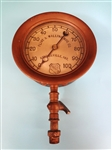 The Ashcroft Mfg. Company Brass Steam Gauge Flint and Walling