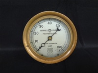 The Ashcroft Mfg. Company Brass Steam Gauge Grinnell Company