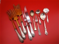 Group of Miscellaneous Sterling Silver Flatware Pieces