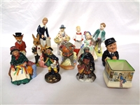 (13) Royal Doulton Figurines