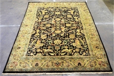 Made in India 100% Wool Hand Knotted Room Size Rug