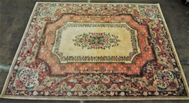 Fritz and LaRue Company 100% Wool Made in India Room Size Rug
