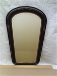 Victorian Hall Mirror Oval Top