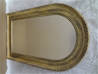 Arched Hallway Mirror Gilt Frame
