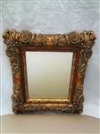 Large Heavily Elaborate Gilt Frame Room Mirror