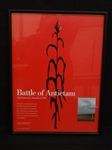 132nd Anniversary of Battle of Antietam Poster Framed and Numbered